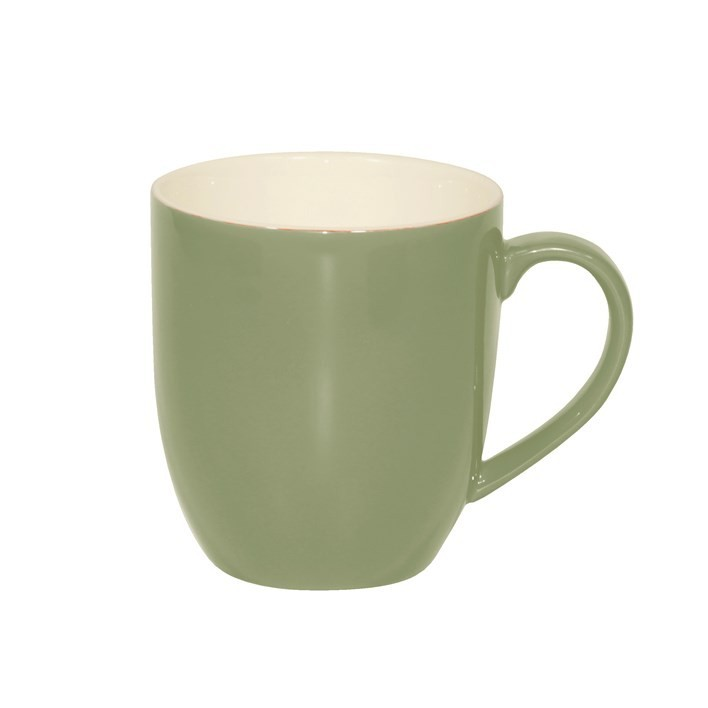 BREW MUG SAGE/WHITE 380ML
