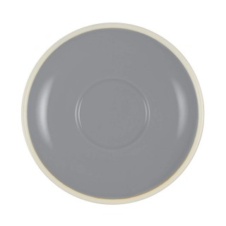 Brew Saucer French Grey/White 140mm/55mm Suits 25294/25293