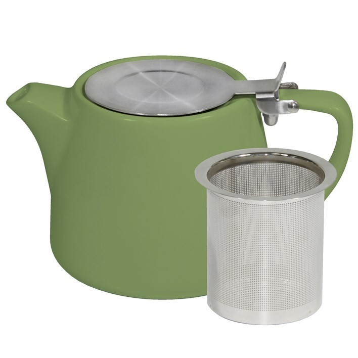 BREW TEAPOT STACKABLE SAGE 500ML
