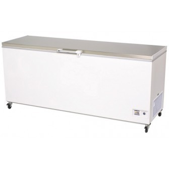 Bromic CF0700FTSS Chest Freezer S/S Flat Top 675ltr
