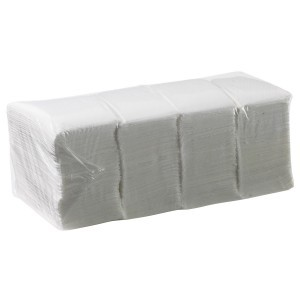 Caprice Duro 1ply Lunch Napkin White