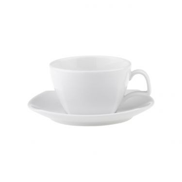 CHELSEA TEA CUP SQUARE 230ML WITH SQUARE WELL