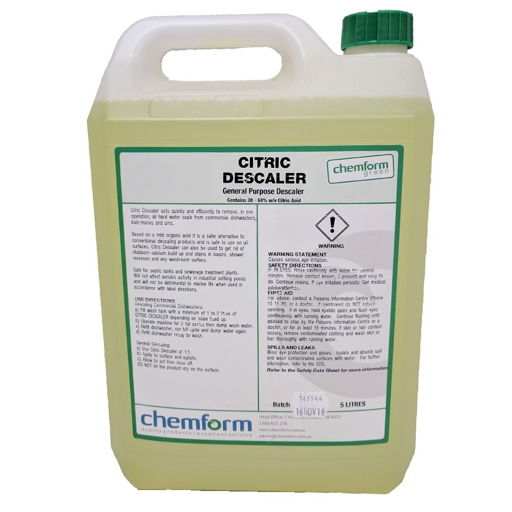 Descaler Citric 5ltr