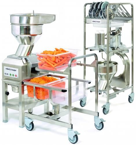 Robot Coupe CL60 Vegetable Cutting Machine Workstation