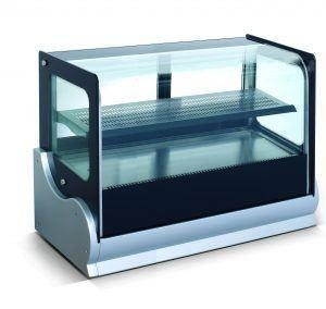 Anvil Aire DGV0530 Cold Showcase Display Countertop Square Glass