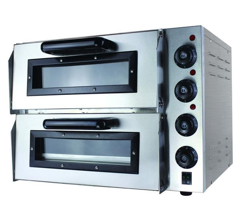 FED EP2S Compact Pizza Oven Double Deck