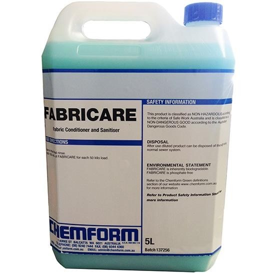 Fabricare Conditioner & Sanitiser 5ltr (2)