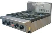 Image Goldstein 800 Series PFB-24 Cooktop 4 Burner No Stand