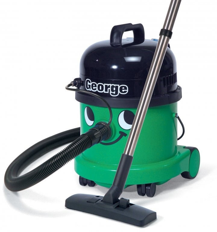Vaccum Cleaner George Wet & Dry & Extraction Green