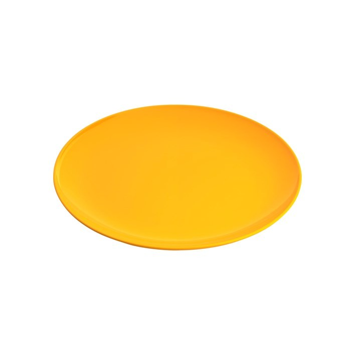 JAB Melamine Gelato Coupe Plate 200mm Yellow