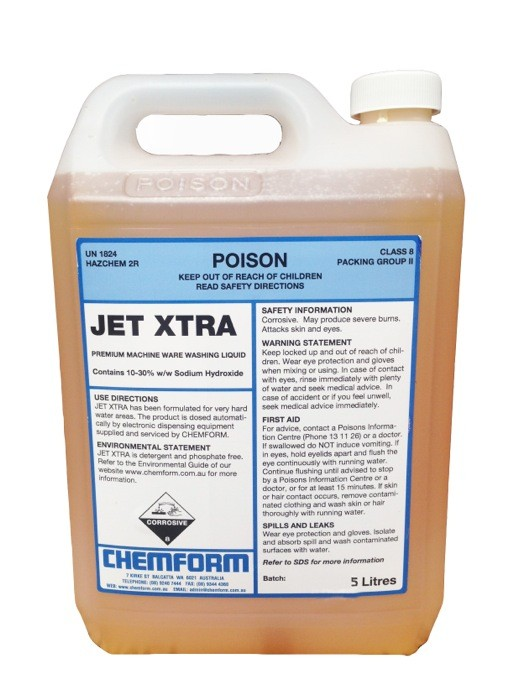 Image of Jet Xtra Detergent For Hard Water Areas 5ltr (2)