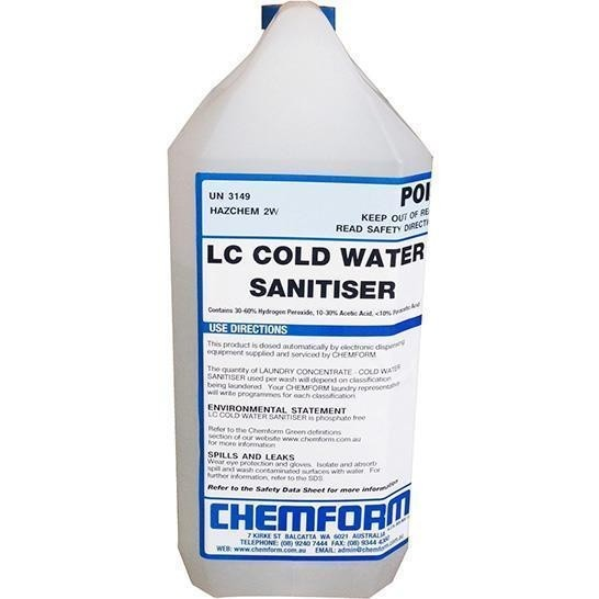 LC Cold Water Sanitizer DG For Beer Line Cleaning 4ltr Part B