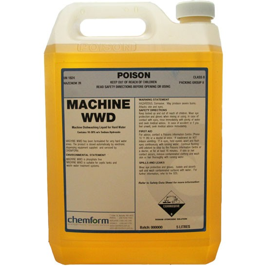 Machine WWD DG 5ltr