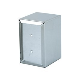 "Napkin Dispenser S/S ""E Fold"" 160 x 100 x 125mm"