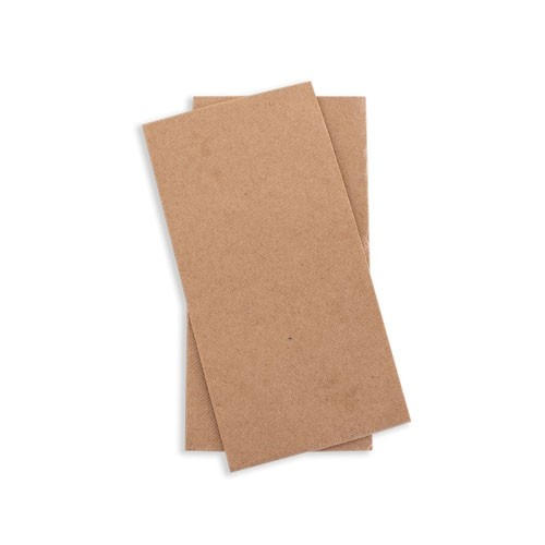 Kraft Brown Quilted Dinner GT Fold Napkin