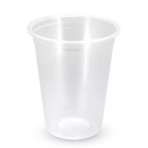 Plastic Drink Cup 18oz 520ml Clear 50/Pkt