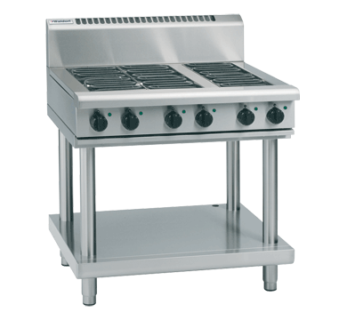 Image of Waldorf 800 Series RN8606E-LS Cooktop & Griddle On Leg Stand Electric