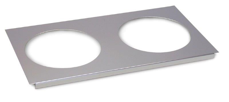 Image of Roband BMH2 Double Hob To Suit Bain Maries & Food Bars