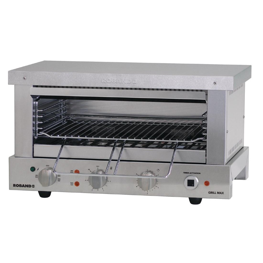Roband GMW815E Grill Max Wide Mouth Toaster 15 Amp
