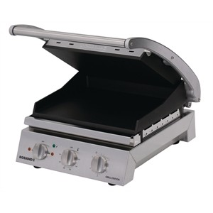 Image of Roband GSA610ST Grill Station Smooth Plates Non Stick Coating