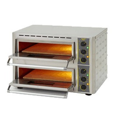 ROLLERGRILL PZ 430 D PIZZA OVEN TWO DECK