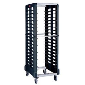 Rubbermaid End Loader Max Rack 18 Slot Black (1)