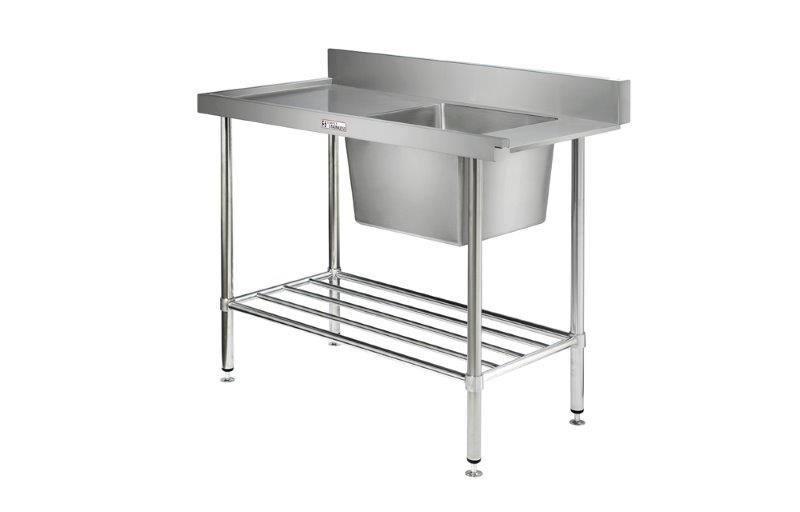 Image of Simply Stainless 700 Series Dishwasher Inlet Bench Left Hand Feed