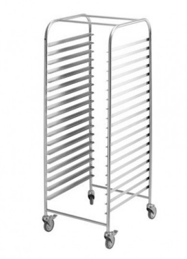 Simply Stainless Mobile Gastronorm Rack Trolley 1/1
