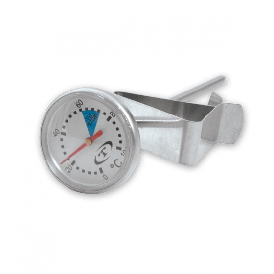 Image of Thermometer Coffee S/S W/Clip & 25mm Dial (0C to 100C)