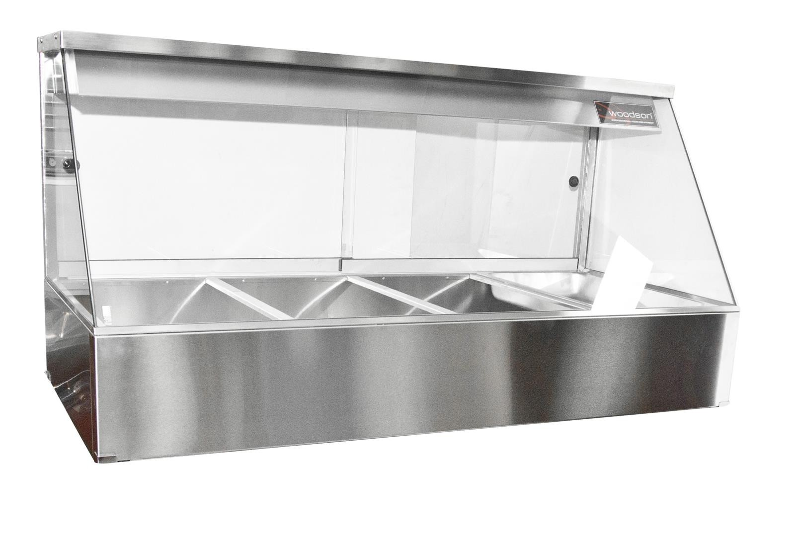 Woodson W.HFS22 Hot Food Display Straight Glass