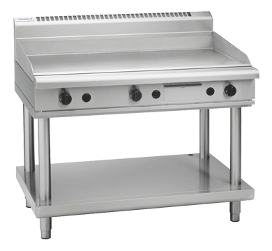 Waldorf 800 Series GP8120G-LS Griddle 1200mm On Leg Stand *LPG*