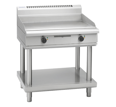 Waldorf 800 Series GP8900E-LS Griddle 900mm On Leg Stand Electric