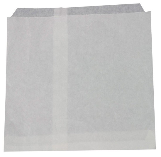 Bag Paper Greaseproof Lined White 200 x 175mm