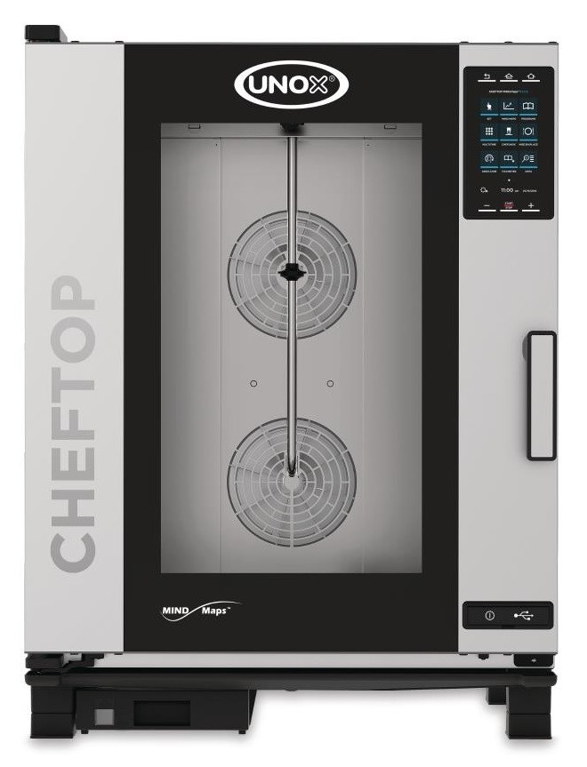 Unox Cheftop Mind.Maps XEVC-1011-EPR Combi Oven 10 Tray Electric