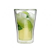 Athena Dorf Double Wall Glass Tapered 250ml 6/Pkt
