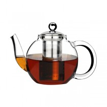 Lexi Teapot 600ml Glass With S/S Infuser