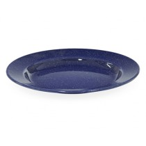 Falcon Enamelware Dinner Plate 26cm Blue (12)