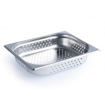 Steam Pan 1/2 Size 65mm Perforated