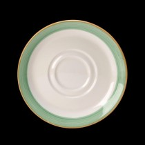 Steelite Rio Double Well Saucer Green 145mm
