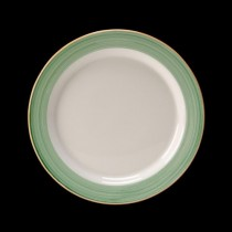 Steelite Rio Slimline Plate Green 230mm