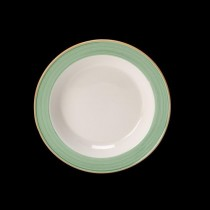Steelite Rio Slim Soup Plate Green 215mm