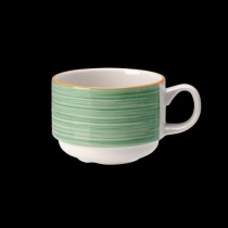 Steelite Rio Stackable Slimline Cup Green 200ml