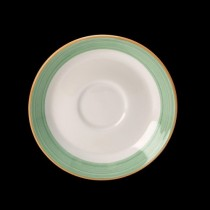 Steelite Rio Slimline Saucer Green 152mm