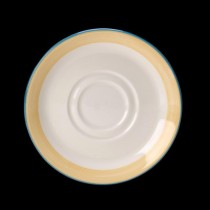Steelite Rio Double Well Saucer Yellow 145mm