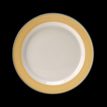 Steelite Rio Slimline Plate Yellow 230mm