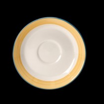 Steelite Rio Slimline Saucer Yellow 152mm