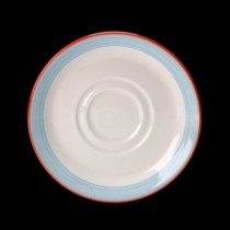 Steelite Rio Double Well Saucer Blue 145mm
