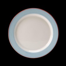Steelite Rio Slimline Plate Blue 230mm