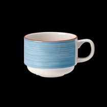 Steelite Rio Stackable Slimline Cup Blue 200ml