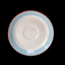 Steelite Rio Slimline Saucer Blue 152mm